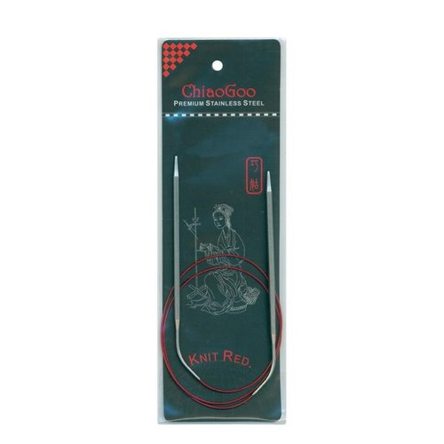 Chiaogoo Red Lace Circular Needles - 3.25mm