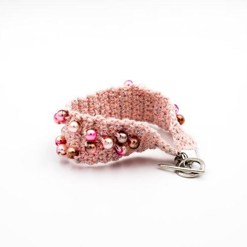 Crochet Bead Bracelet Kit