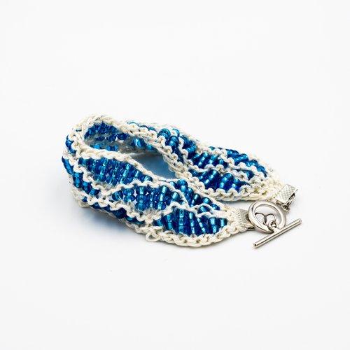 Knit Bead Bracelet Kit