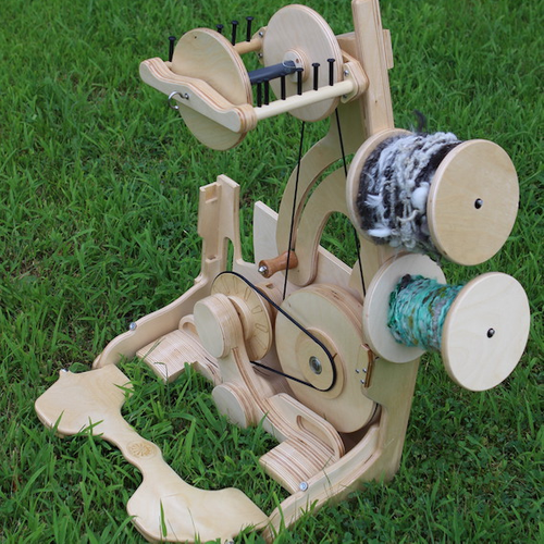 Introduction to Yarn Spinning on a Wheel
