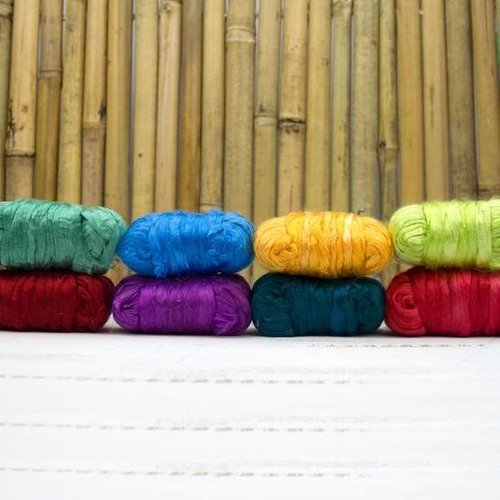 Dyed Mulberry Silk Pack