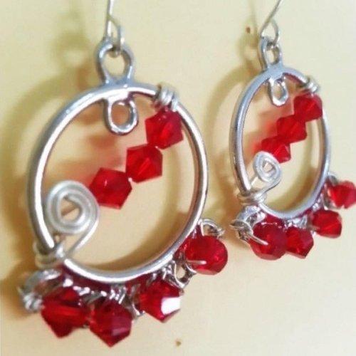 Intermediate Crystal Earrings