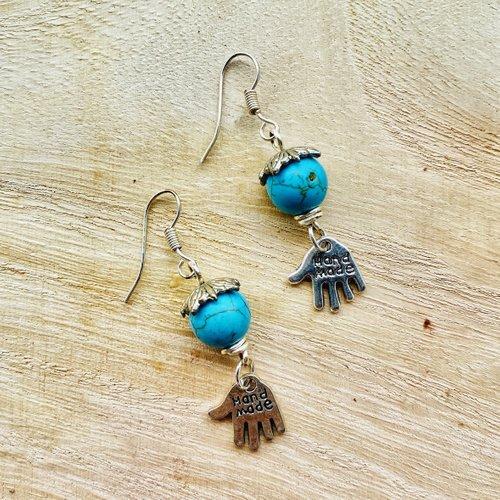Beginner Bead Earrings
